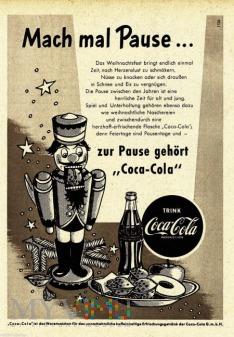 1955 coca-cola dziadek do orzechów
