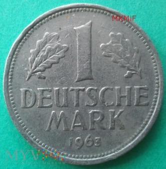 1 Marka Niemcy 1963