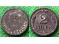 Węgry, 2 Fillér 1943