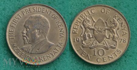 Kenia, 10 cents