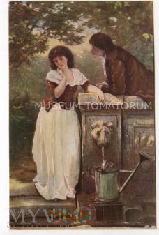 Amberg - On i Ona przy źródle