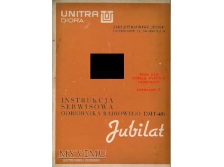 Instrukcja radia JUBILAT