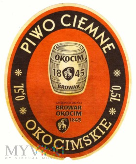 piwo ciemne okocimskie