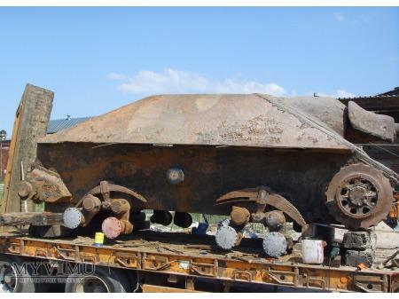 Działo pancerne Jagdpanzer 38(t) Hetzer na lawecie