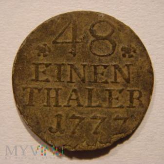 48 EINEN THALER 1777 A