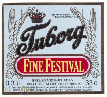 Tuborg, fine festival