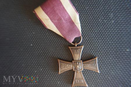 Krzyż Walecznych - Knedler nr:25376 - lata 1920-21