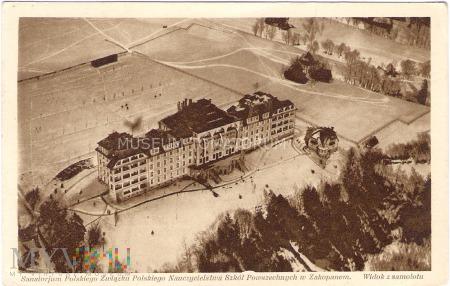 Zakopane. Sanatorium ZNP - lata 30-te XX w.