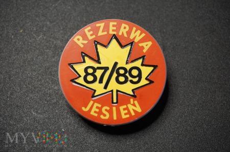 Pamiątkowa Odznaka Rezerwy - Jesień 87/89