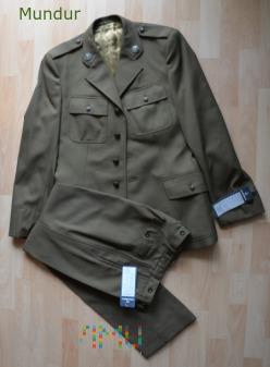 Mundur wyjściowy gabardynowy wojsk ląd. - spodnie