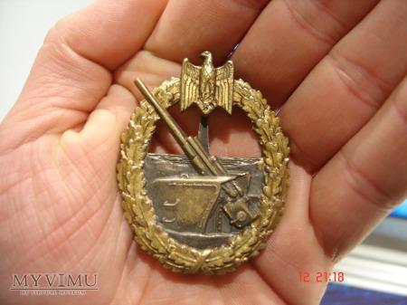 Kriegsmarine Odznaka Artylerii Nadbrzeżnej