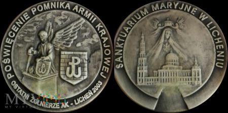 255. Poświęcenie Pomnika Armii Krajowej w Licheniu