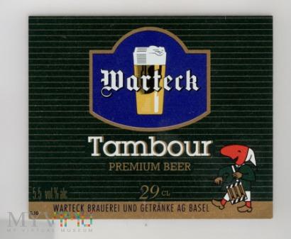 Warteck, Tambour