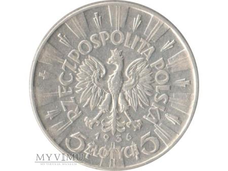 5 złotych 1936 rok