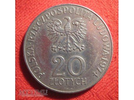 20 ZŁOTYCH - XXV LAT RWPG