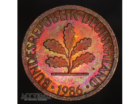 1 Pfennig 1986