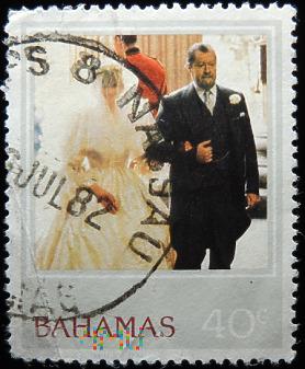 Bahamy 40c księżna Diana