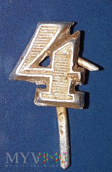 Cyfra 4 z pagonu Wermachtu III Rzesza