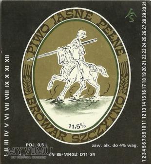 Browar Szczytno - Piwo pełne jasne