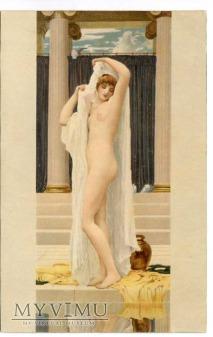 Frederick Leighton - Psyche w kąpieli