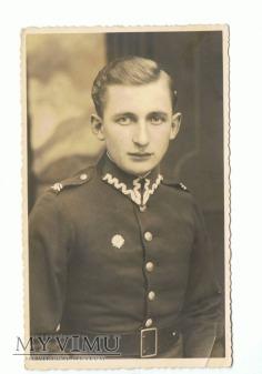 Fotografia żołnierza 56 Pułku Piechoty Wlkp.