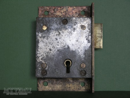 GPO (British Post Office) Mail Box Lock-Largest