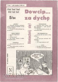 Dowcip...za dychę 5/94