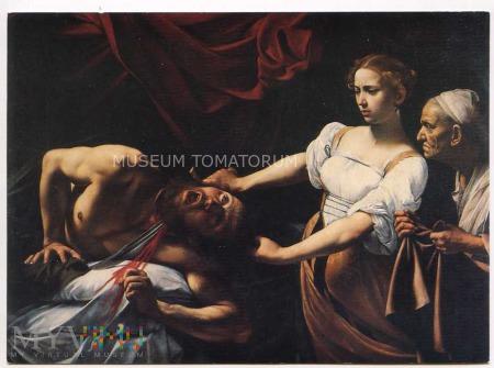 Caravaggio - Judyta odcinająca głowę Holofernesowi