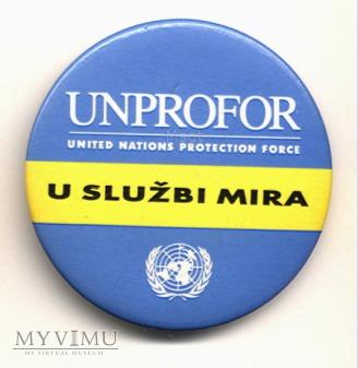 Znaczek UNPROFOR