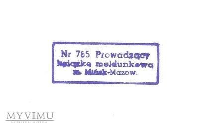 Pieczatka Mińsk Mazowiecki