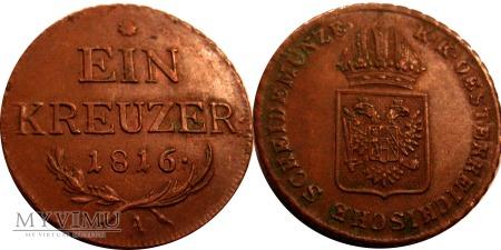 Duże zdjęcie Krajcar 1816 A