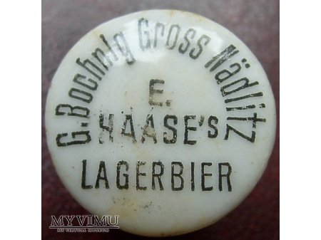 Duże zdjęcie Brauerei E.Haase -G.Bochnig Gross Nadlitz