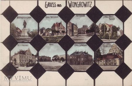 Wągrowiec - Gruss aus Wongrowitz mozaika