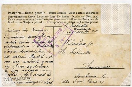 Dachshund - Jamnik - 1918