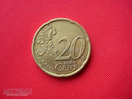 20 euro centów - Grecja