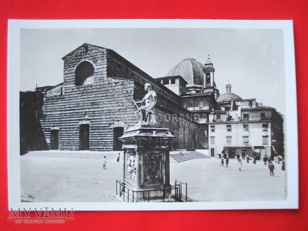 Florencja - Bazylika San Lorenzo