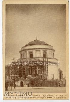 W-wa - Kościół św. Aleksandra - 1951