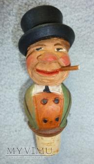 Mężczyzna z cygarem - korek do butelek ANRI