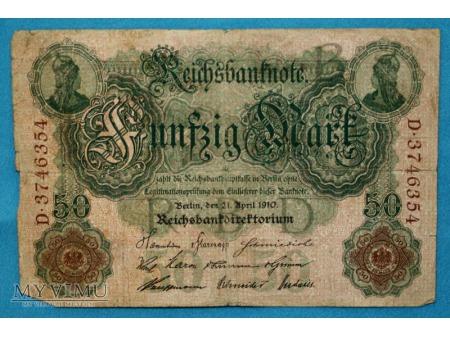 50 Marek 1910
