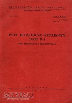SKOT R-3. Opis techniczny z 1972 r.