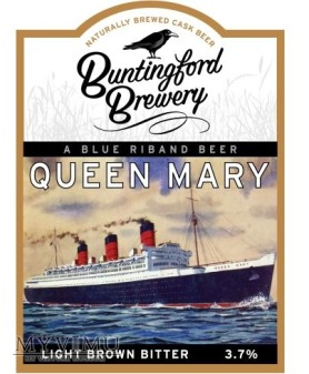 buntingford brewery - queen mary