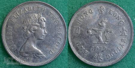 Hong Kong, 1 dolar 1979