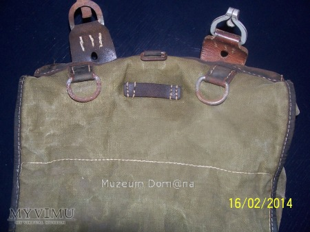 TORNISTER NIEMIECKI M39 - WARSZAWA 1942 rok - DAK-