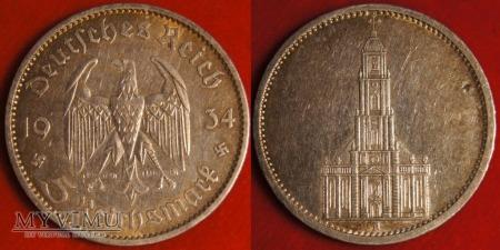 Niemcy, 1934, 5 Reichsmark