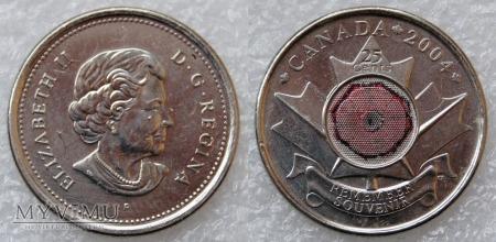 Kanada, 25 CENTS 2004