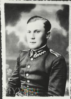 Wachmistrz Jan Klimek z 25 Pułku Ułanow Wielk.