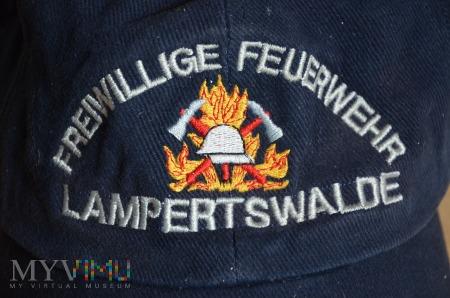 Czapka Freiwillige Feuerwehr Lampertswalde
