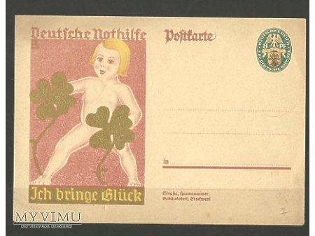 Niemiecka kartka pocztowa z 1928 roku.