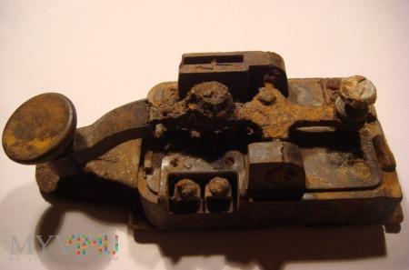 Klucz telegraficzny T.2 Telefunken (Lorenz)