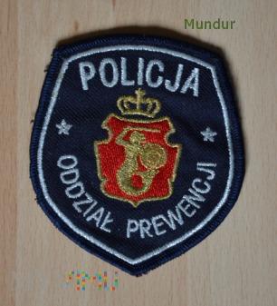 Oznaka ODDZIAŁ PREWENCJI POLICJI w Warszawie